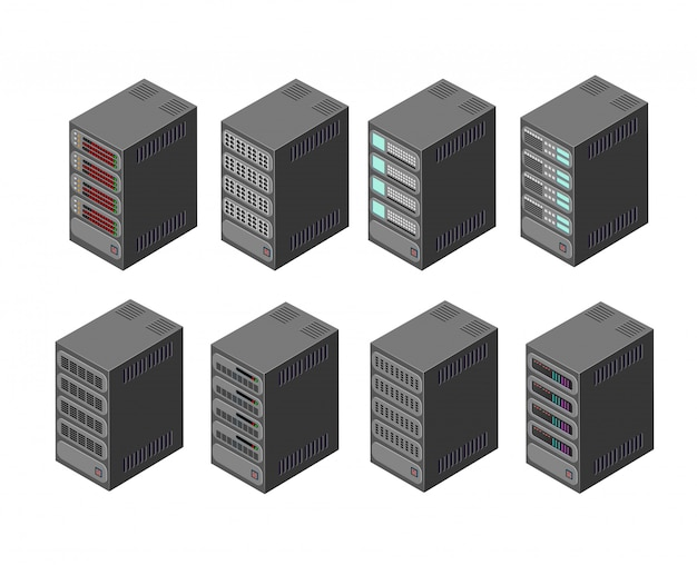 Datenserver-netzwerk
