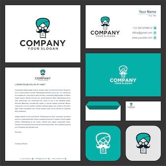 Datenspeicherung erste logo-vorlagensammlung premium