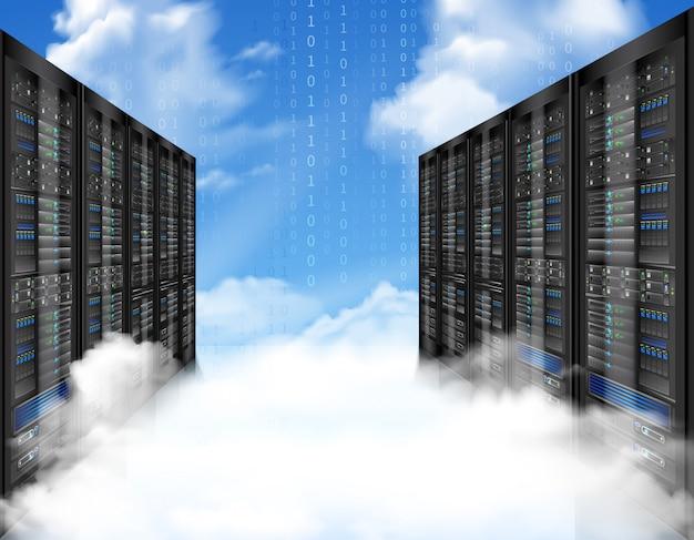 Datenspeicherung in den clouds