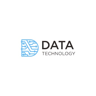 Datentechnologie-logo