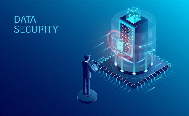 Datenverarbeitung schutz banner