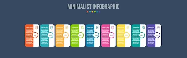 Datenvisualisierungsvorlage für infografik-elemente