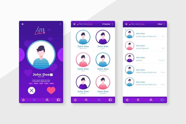 Dating-app benutzerfreundliche plattform