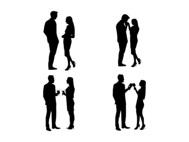 Dating-silhouette