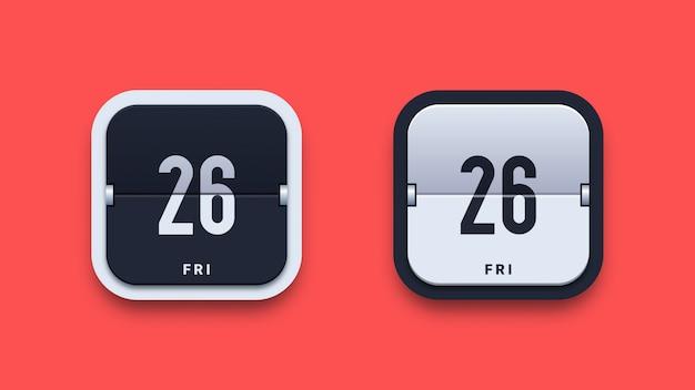 Datum ikonen illustration