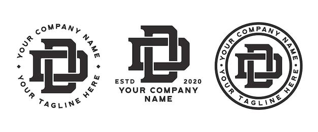 Dd monogramm logo