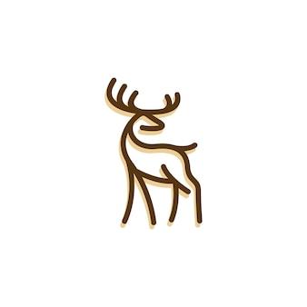 Deer monolin logo