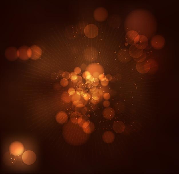 Defocused hintergrund des abstrakten shines