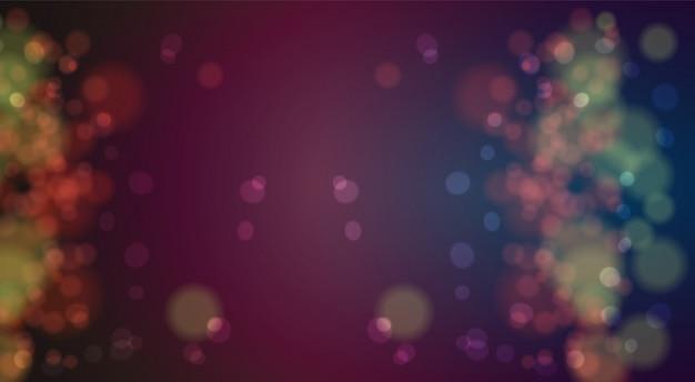 Defocused lichter des weihnachtsbokeh hintergrundes