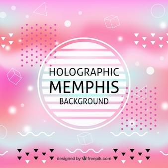 Defokussierter holographischer memphishintergrund