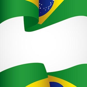 Dekoration von brasilien-insignien