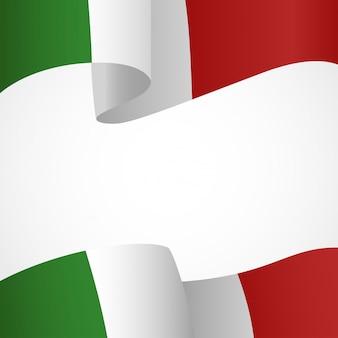 Dekoration von italien