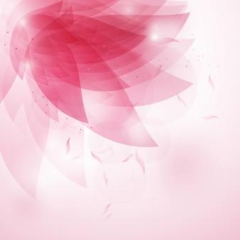 Dekorative abstrakte floralen hintergrund in den farben rosa