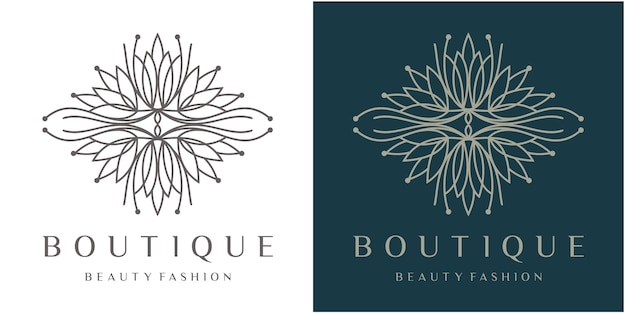 Dekorative luxusblume