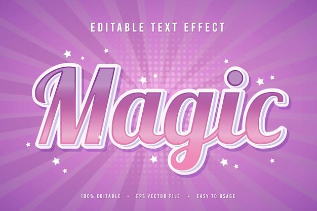Dekorative magie schrift