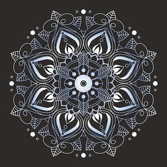 Dekorative mandala design