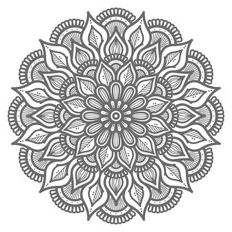 Dekorative mandala-illustration für abstraktes und dekoratives konzept