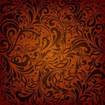 Dekorative muster-design