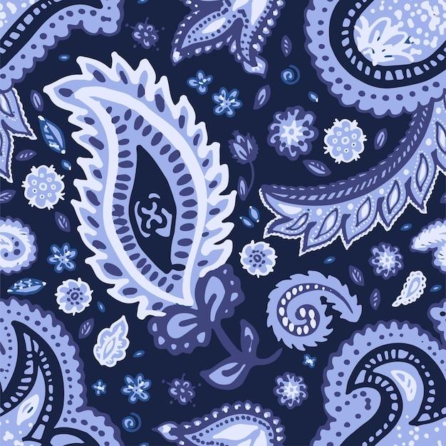 Dekorative ornamente der abstrakten blumenkomposition