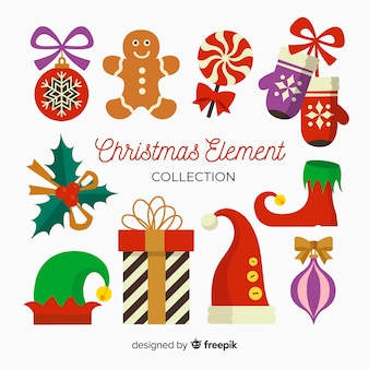 Dekorative weihnachtselemente