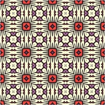 Dekorativer abstrakter nahtloser musterhintergrund