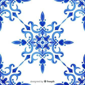 Dekorativer aquarellblumenhintergrund
