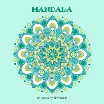 Dekorativer hintergrund der mandala