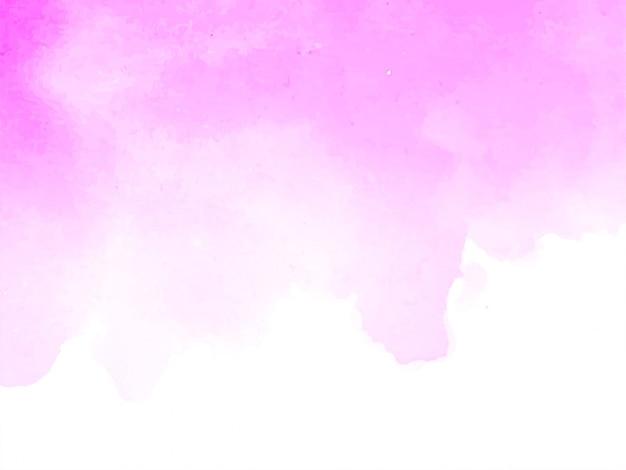 Dekorativer hintergrund der rosa aquarelldesignbeschaffenheit