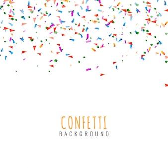 Dekorativer hintergrund des abstrakten bunten konfettis
