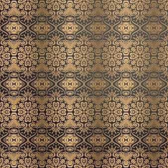 Dekorativer luxushintergrund in der goldfarbe