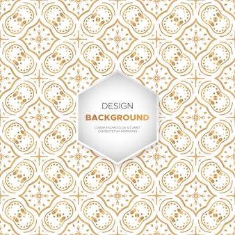 Dekorativer mandaladesign-luxushintergrund