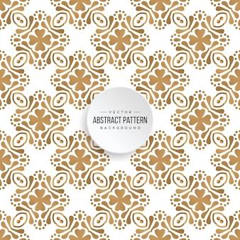 Dekorativer mandaladesignluxushintergrund in der goldfarbe