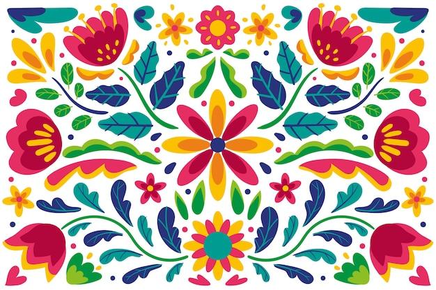 Dekorativer mexikanischer hintergrund