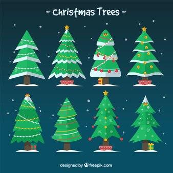 Dekorativer weihnachtsbaum