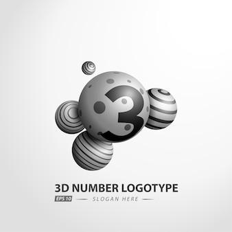 Dekoratives ball-logo
