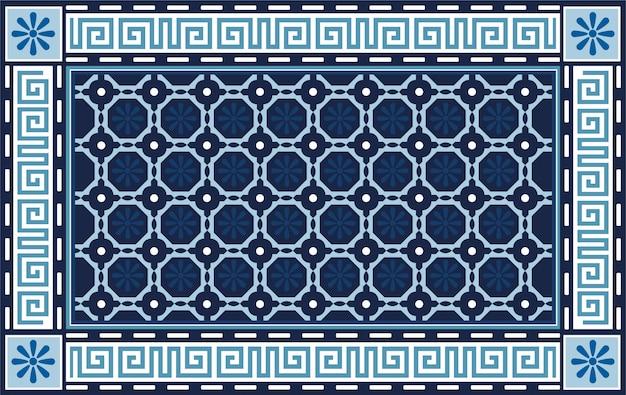 Dekoratives geometrisches fliesenmuster