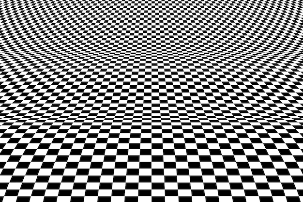 Dekoratives gestaltungselement des abstrakten quadratischen op-kunstmusters des netzhintergrunds.