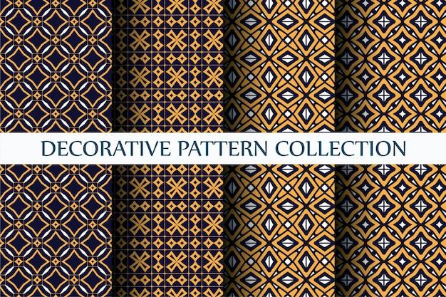 Dekoratives luxusmuster mit abstraktem stil