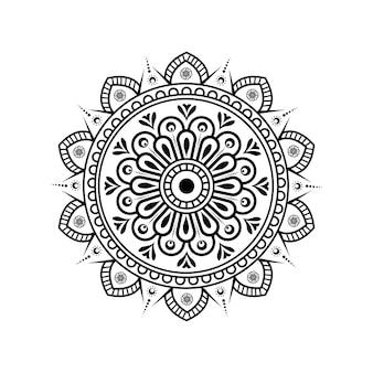 Dekoratives mandala