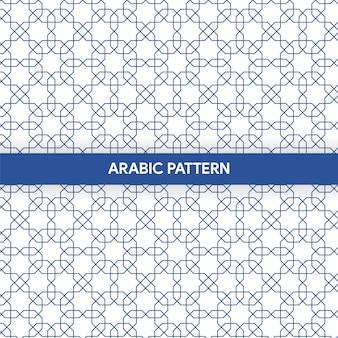 Dekoratives muster der arabischen islamischen art-verzierung
