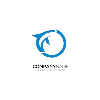 Delphin-logo perfekt für unternehmen