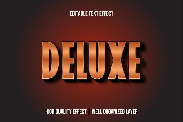 Deluxe, bearbeitbarer texteffektstil