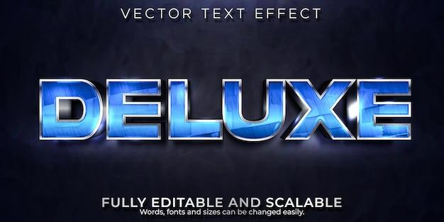Deluxe-texteffekt Premium Vektoren