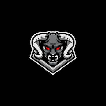 Demon esport maskottchen