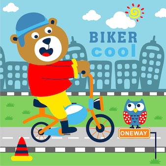 Den biker tragen