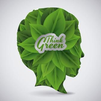 Denke grünes design