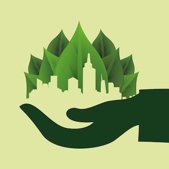 Denken sie grünes design