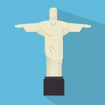 Denkmal jesus statue rio janeiro