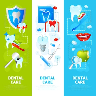 Dental-banner-set