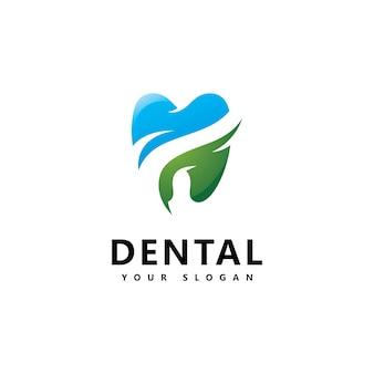 Dental logo symbol design vektor
